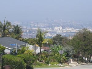 port of LA adjacent to community 3