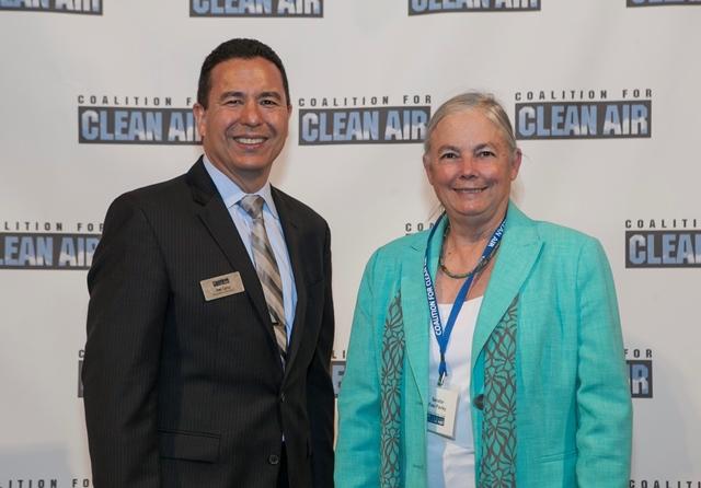 CCA President Joe Lyou and Senator Fran Pavley