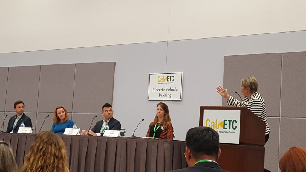 CalETC EV Briefing at the 2016 Los Angeles Auto Show.