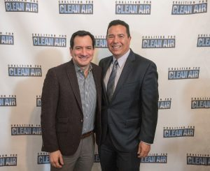Assembly Speaker Anthony Rendon with CCA President Joe Lyou.