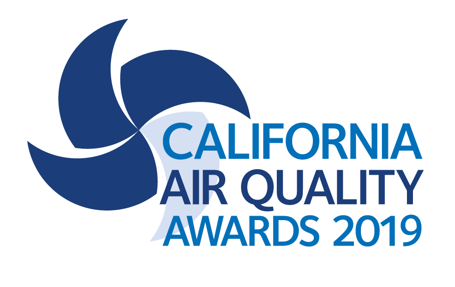 Logo for the 2019 California Air Quality Awards